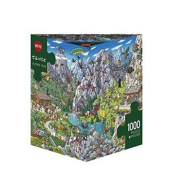 - Heye Puzzle-triangolare, 1000 Pc-alpina Divertente, Tanck-hy29680-mostra Il Titolo Originale