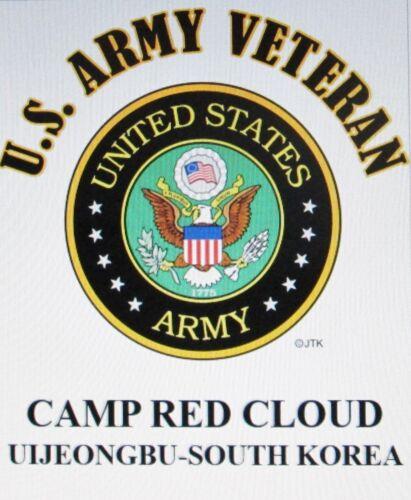 CAMP STANLEY* SOUTH KOREA  R.O.K.* US ARMY VETERAN EMBLEM*SHIRT
