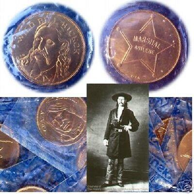 RUGGED AMERICANS Coin WILD BILL HICKOK ~ Franklin Mint Slabbed Medal