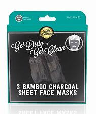 Hello Handsome BAMBOO Face Masks Retro Vintage Box - 3 Stück Rockabilly