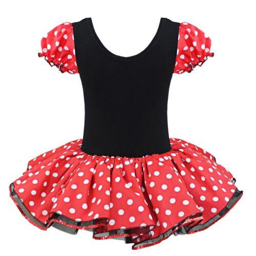 Girl Toddler Cartoon Mouse Halloween Fancy Ballet Dress Costume Ears Halloween