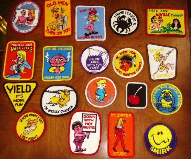 YOUR CHOICE OF VINTAGE EMBROIDERED PATCHES