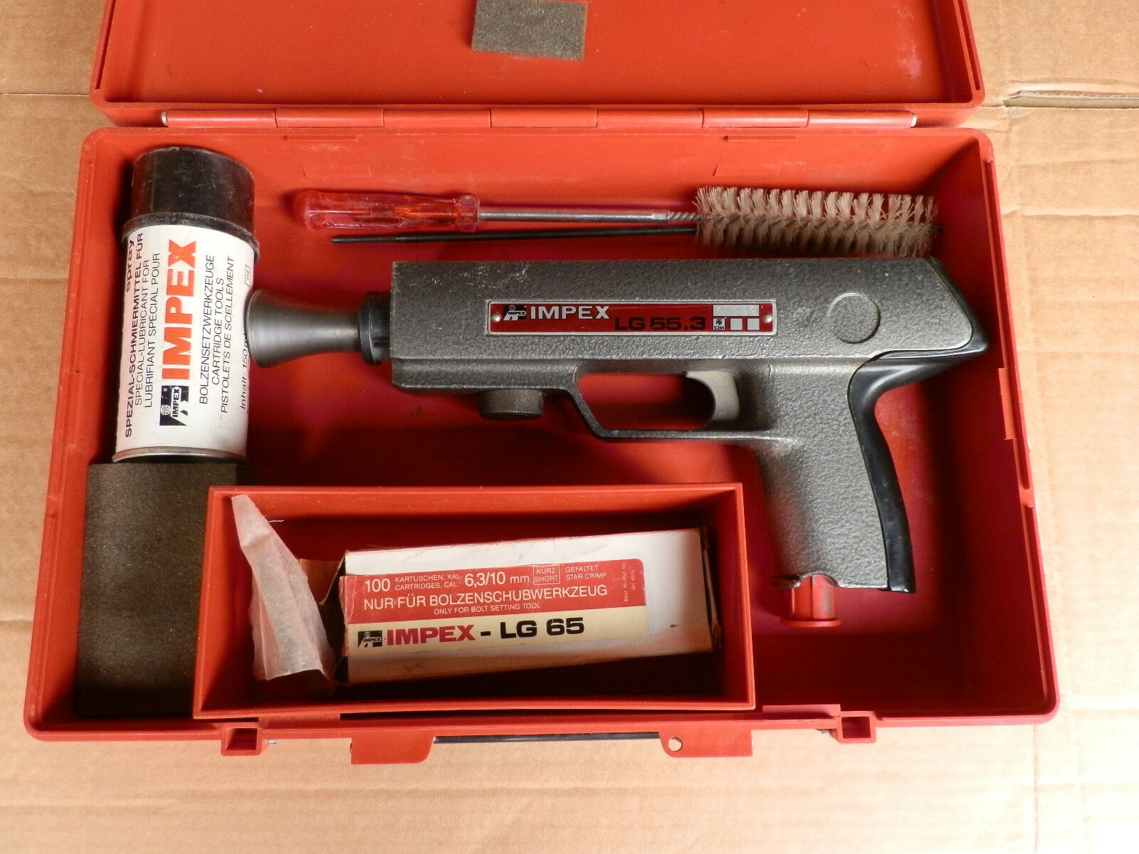 Impex Powder Actuated Bolt Setting Tool LG65.3