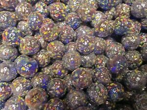 2 POUNDS 1 INCH GLITTERBOMB SPECKLED MEGA / VACOR MARBLES FREE SHIPPING