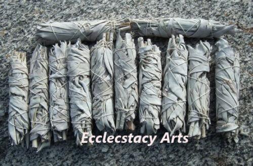 White Sage Smudge Stick 1 3 5 10 20 25 50 60 100 Wholesale Bulk Lot-Purifying