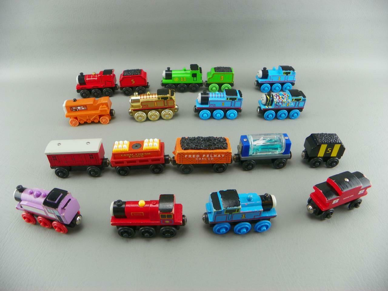 Thomas The Train Wood Wooden OLIVER JAMES MIKE ROSIE TERENCE Frot Car Engine Lot