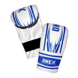 Pro-Rex-Leather-Boxing-Mitts-Punch-bag-Glove-MMA-Training-punching-6oz-Bag-Mitt