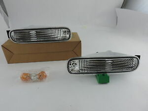 93-96-Clear-Bumper-Turn-Signal-Indicator-Lights-For-Nissan-200Sx-Silvia-S14