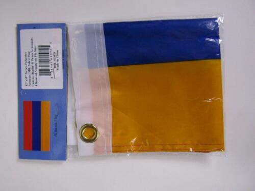 """12x18 Armenia Armenian Country 2ply Double Sided 12/""""x18/"""" Flag"""