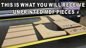Image Is Loading Bartop Arcade Cabinet MDF Do It Yourself Kit