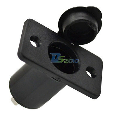 Waterproof Cigarette Lighter Socket Power Outlet Plug Adapter Motorcycle 12V