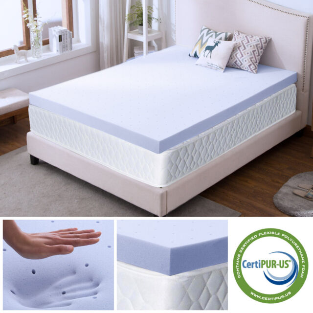 Beautyrest 4 5 Quilted Top Memory Foam Topper Full White Minor