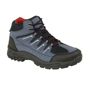 758411a9f12 Details about MENS WALKING HIKING TREKKING TRAIL RAMBLING ANKLE BOOTS SHOE  SIZE 7 8 9 10 11 12