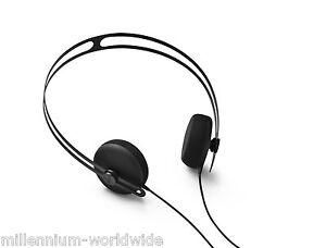 NEW - AIAIAI TRACKS HEADPHONES W/ ONE BUTTON MIC - BLACK / ON EAR / 40 MM