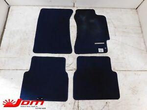 Jdm 2002 2007 Subaru Impreza Wrx Oem Rhd Floor Mat Set Blue Ebay