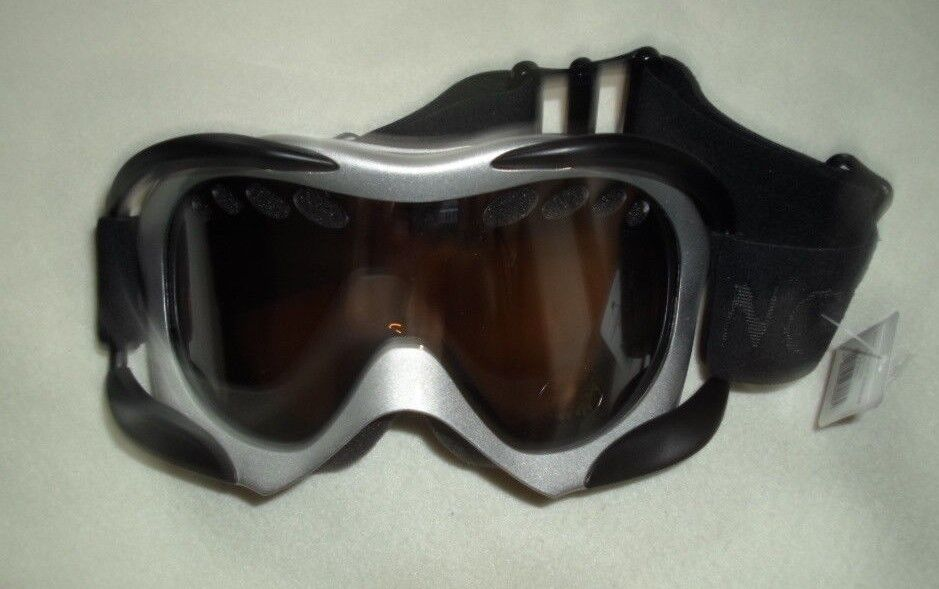 Northland Skibrille Powder Powder Powder Snow Goggles 02-03198 silber schwarz UV 400 TP443 55f28e