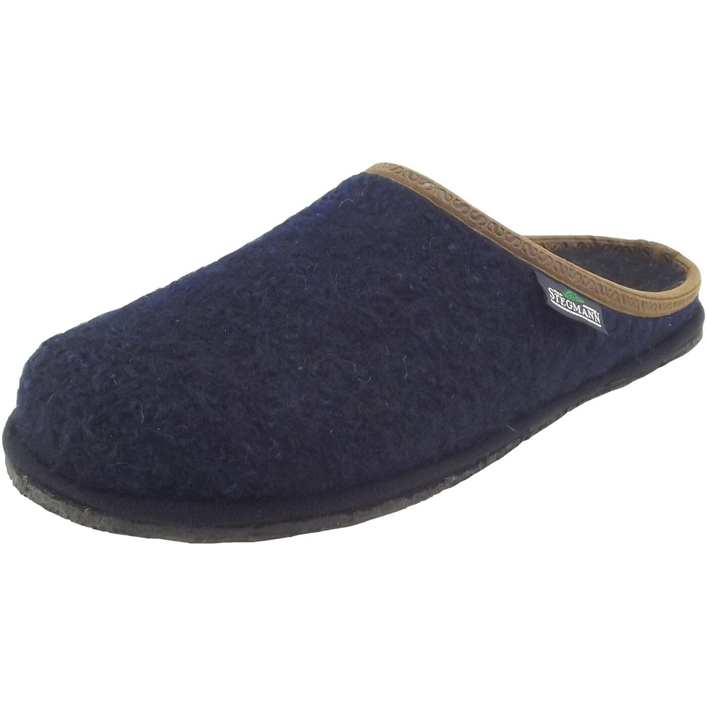 Stegmann 301 Unisex Walkfilz-Pantoffeln dunkelblau (dark Blau)