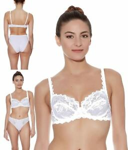 25132cfa5f Image is loading Wacoal-Eglantine-Underwire-Classic-Bra -WEBFA662-White-Womens