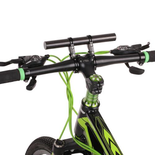 Bike Handlebar Extender Holder Bicycle Computer Mount Extension Bracket O4X5