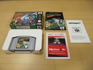 Nintendo 64-n64-spacestation silicon valley-Embalaje original-pal -
