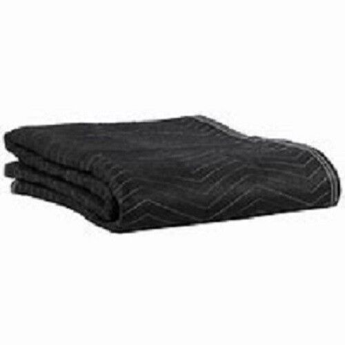 Manta de Mudanza 40 X 72 Muebles de envío Negro Acolchado Pro Almohadilla De Alta Resistencia