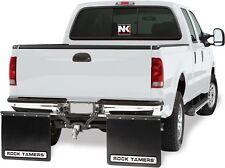 "Rock Tamers 00108 Mudflap System 2"" Hitch-Mount Universal Adjustable Enkay TX"
