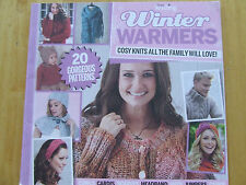 SIMPLY KNITTING SUPPLEMENT MAGAZINE WINTER WARMERS COWLS SCARVES HATS CAPES