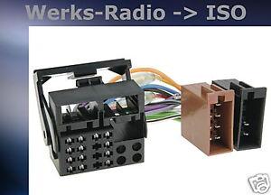 anschlusskabel quadlock iso adapter bmw e87 1er radio. Black Bedroom Furniture Sets. Home Design Ideas