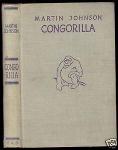 Johnson-Martin-Congorilla-F-A-Brockhaus-1933