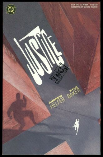 DC Comics Graphic Novel TPB 1989 Justice Inc #1 Andrew Helfer /& Kyle Baker