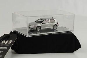 Volkswagen-Golf-IV-4-Gti-25th-Anniversaire-2002-Argent-1-43-DNA-Neuf-Emballage