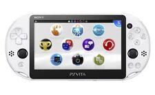 NEW SONY PS Vita PCH-2000 ZA22 Glacier White Console Wi-Fi model JAPAN IMPORT