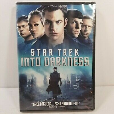 Star Trek Into Darkness 2013 Chris Pine Benedict Cumberbatch Abrams Sealed New 97363555049 Ebay