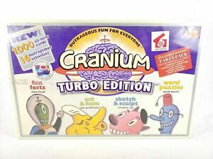 Cranium-Turbo-Edition-Board-Game-Family-Fun-2004-Interactive-Electronic-Sealed