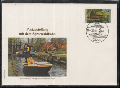 C 21 ) Germany Fantastic Cover - Postal delivery with the Spreewaldkahn