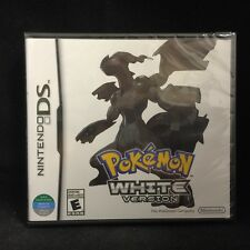 Pokemon White Version  (Nintendo DS, 2011) BRAND NEW /  Region Free / Imported