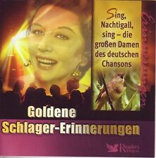Goldene Schlager- Erinnerungen - Sing Nachtigall sing - Reader's Digest 3 CD Box