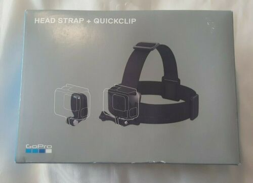 GoPro Head Strap and QuickClip Black