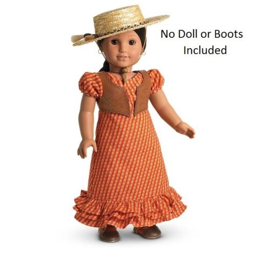 American Girl Doll Josefina/'s Summer Dress and Hat Outfit NEW!!