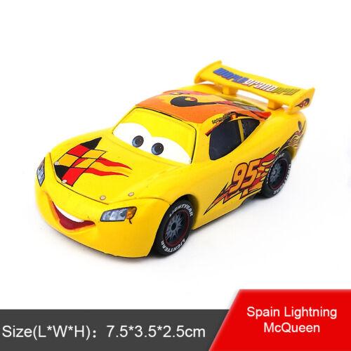 Disney Pixar Cars No.95 Lightning McQueen Toy Car 1:55 Diecast Model Boys Gift