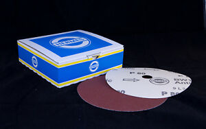 Floortech Products - Sanding Discs 7 inch / 180mm Paper Backed - Alu Oxide - 36G