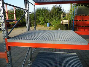 Gitterrost für Palettenregal zum Auflegen ca. 1.340 x 1.100 mm Maschen 30x30 mm