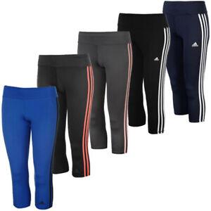 Capri 3 Ce2048 Climalite Pantalones estrechos Stripes deportivos 4 Adidas Mujeres 3 qFx7wvIz