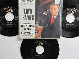 LOT OF 4 ' FLOYD CRAMER ' HIT 45's+1PS[(These Are) THE Young Years]  THE 60's!