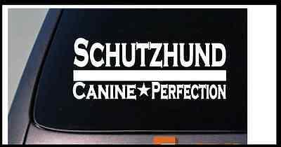 "Schutzhund 8"" sticker german shepherd malinois dog training bite sleeve *D681*"