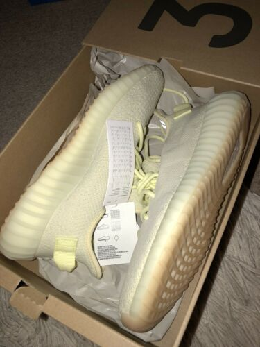 Homme Butter 9 5 V2 Kanye West Adidas Yeezy Uk 350 Baskets Boost Consortium pOI1Y