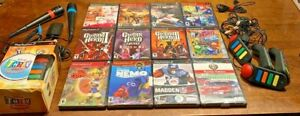 PS2-Games-Sony-PLAYSTATION-most-sealed-BRAND-NEW-DISNEY-Songstar-Guitar-Hero