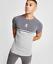 Gym-King-Mens-Short-Sleeve-Crew-Neck-Block-Panel-Taped-New-Slim-Fit-T-shirt-Tee thumbnail 5