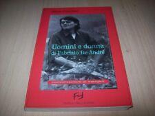 ALFREDO FRANCHINI-UOMINI E DONNE DI FABRIZIO DE ANDRE'-FRILLI 2000 BUONISSIMO!!