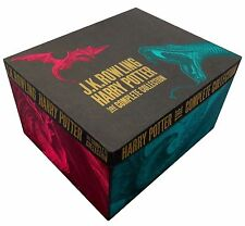Harry Potter Boxed 7 Books Set Complete Collection J K Rowling Gift